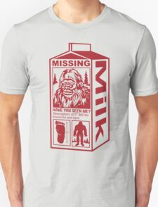 Sasquatch Milk Carton Unisex T-Shirt