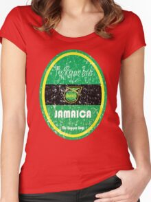 Copa America 2016 - Jamaica Women's Fitted Scoop T-Shirt