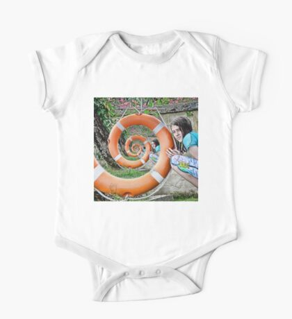 surreal spiral One Piece - Short Sleeve