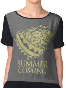 Summer Is Coming Chiffon Top