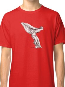 The Spirit of Ecstasy (Solid White, Smaller) Classic T-Shirt