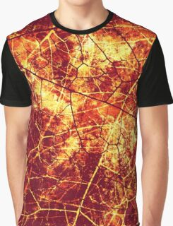 Rusty Crackle Grunge Texture Graphic T-Shirt