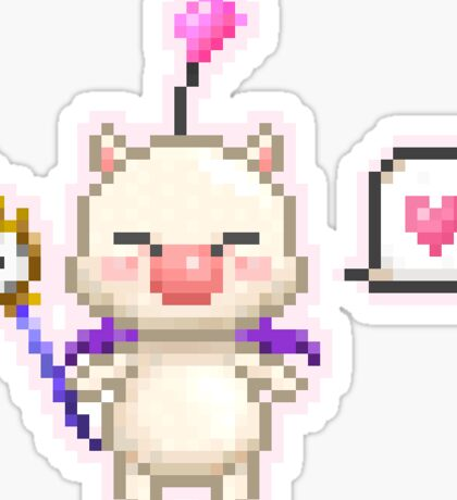 Moogle from Final Fantasy 13 Sticker