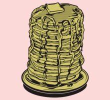 Tower Of Pancakes Kids Tee