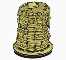 Tower Of Pancakes Kids Tee
