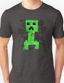 sad creeper ;-; Unisex T-Shirt