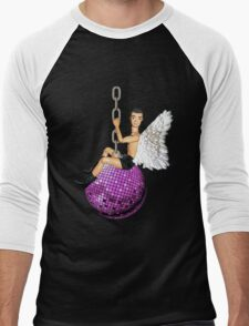 He Came In On a Disco Ball! Men's Baseball ¾ T-Shirt