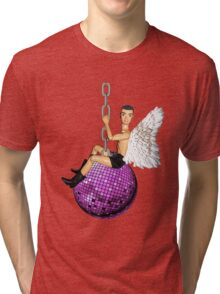 He Came In On a Disco Ball! Tri-blend T-Shirt