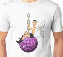 He Came In On a Disco Ball! Unisex T-Shirt