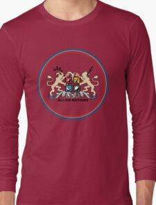 Advance Wars Allied Nations Long Sleeve T-Shirt