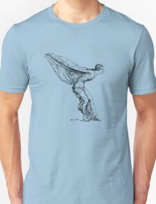 The Spirit of Ecstasy (Black on Light) T-Shirt