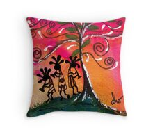 Let's Play Music Throw Pillow