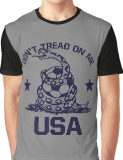 USA Soccer Snake Graphic T-Shirt