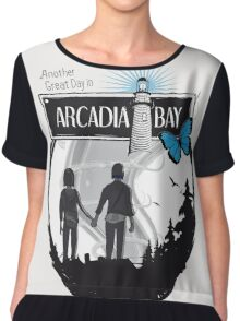 Life Is Strange Arcadia Bay Chiffon Top