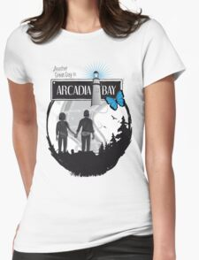 Life Is Strange Arcadia Bay Womens Fitted T-Shirt