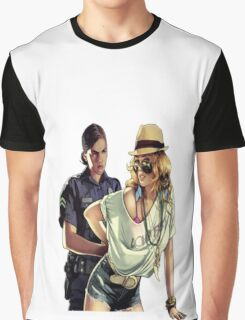 GTA police  Graphic T-Shirt