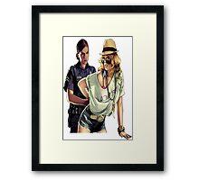 GTA police  Framed Print