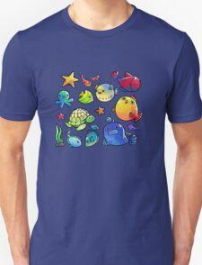 Underwater friends Unisex T-Shirt