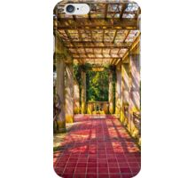 Under The Columns - Color iPhone Case/Skin