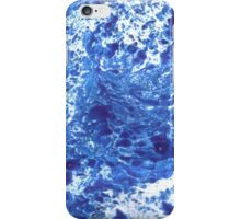 Marbling with Love Collection [Blue] iPhone Case/Skin