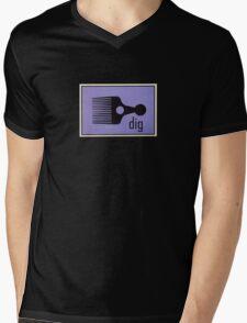 Digable Blowout Mens V-Neck T-Shirt