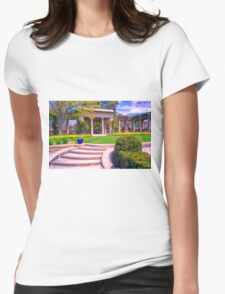 Stately State Park Womens Fitted T-Shirt