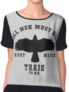 All men must die Chiffon Top
