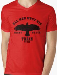 All men must die Mens V-Neck T-Shirt