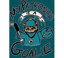 My Patronus is a Goalie (SJS Edition) Photographic Print