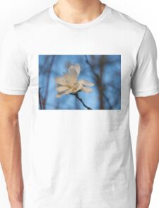 Creamy, Dreamy Wild Magnolia in the Forest Unisex T-Shirt