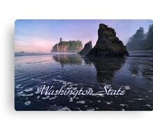 Pacific North West, Washington State Canvas Print