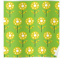 Meadow - Lime Green Poster