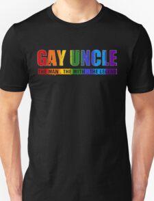 Gay Uncle Pride T-Shirt T-Shirt