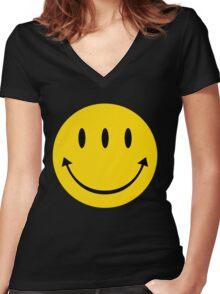Transmetropolitan Women's Fitted V-Neck T-Shirt