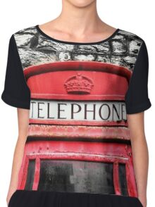 Telephone Box Chiffon Top