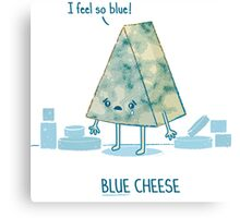 Blue cheese Canvas Print