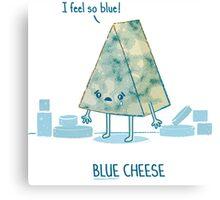 Blue cheese Canvas Print