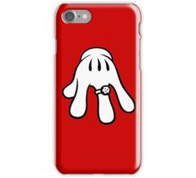 Engagement hand iPhone Case/Skin