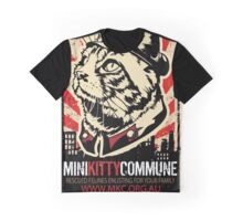 Furdell Catstro - Revolutionary Cat Graphic T-Shirt