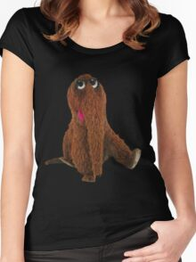 Awesome snuffleupagus Women's Fitted Scoop T-Shirt