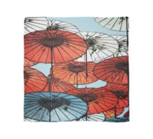 Umbrellas Asian Style Scarf