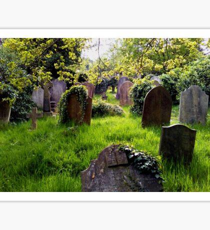 cemetery Sticker