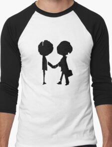 Radiohead - Black  Men's Baseball ¾ T-Shirt