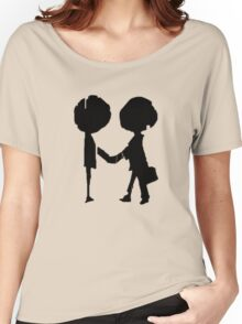 Radiohead - Black  Women's Relaxed Fit T-Shirt