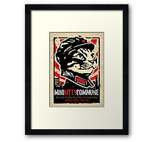 """MKC """"Big Fat Charity Cat Picture"""" Framed Print"""