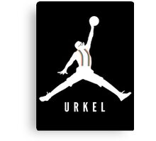 Steve Urkel Jumpman Logo Spoof 1 Canvas Print