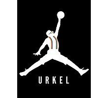 Steve Urkel Jumpman Logo Spoof 1 Photographic Print