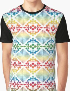 Beautiful and fashion floral pattern Graphic T-Shirt
