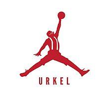 Steve Urkel Jumpman Logo Spoof 2 Photographic Print