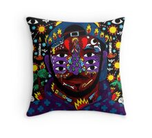 KAYTRANADA - 99.9% Throw Pillow